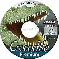Żyłka uniwersala JAXON CROCODILE Premium przezroczysta 0,18mm 6kg 150m