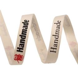 Wstążka bawełniana handmade 10 mm1m