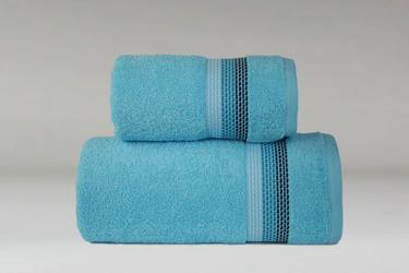Ombre Turkus ręcznik bawełniany FROTEX - turkusowy