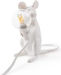 Lampa mouse siedząca