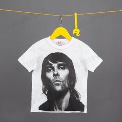 Koszulka amplified -ian brown face wht