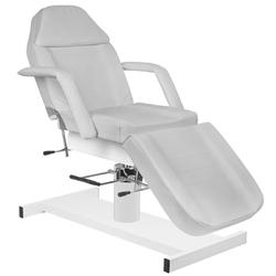 Fotel kosmetyczny hyd. a 210 szary