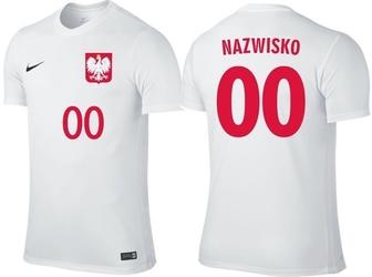 Koszulka nike z dowolnym nazwiskiem reprezentacja polski