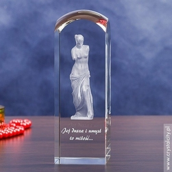 Wenus 3d • personalizowana statuetka 3d wysoka • grawer 3d