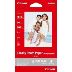 Canon glossy photo paper, foto papier, połysk, gp-501, biały, 10x15cm, 4x6, 210 gm2, 50 szt., 0775b081, atrament