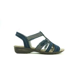 Sandały damskie jan 28163 gra