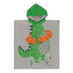 Ręcznik - poncho zoocchini aligator