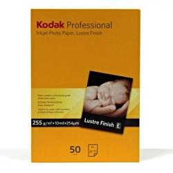 Kodak Professional Inkjet Photo Paper Lustre, satynowy, papier, biały, A4, 255 gm2, KPROA4L, do drukarek atramentowych