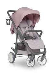 Euro cart flex pro powder pink spacerówka do 22kg + folia + moskitiera + organizer