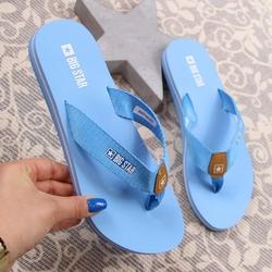 Japonki damskie plażowe niebieskie big star dd274a253 - niebieski
