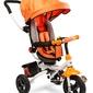 Toyz wroom orange rower 3 kołowy z obracanym siedziskiem + prezent 3d