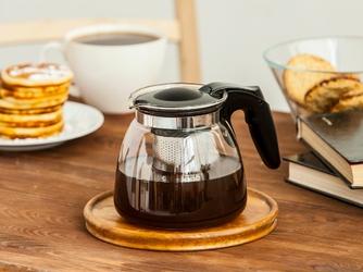 Dzbanek  czajniczek z zaparzaczem do herbaty i kawy szklany altom design 0,9 l