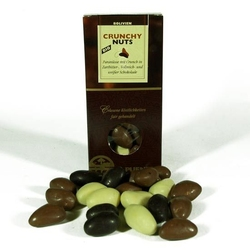 El puente | orzechy brazylijskie w białej, mlecznej i gorzkiej czekoladzie 125g | organic - fair trade