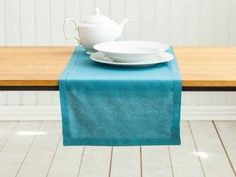 Bieżnik na stół altom design bawełniany morski  zielono-niebieski 40 x 140 cm