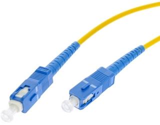 Patchcord światłowodowy sm 0,5m simplex 9125, scupc-scupc 3mm - szybka dostawa lub możliwość odbioru w 39 miastach