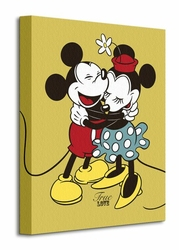Mickey and Minnie Mouse True Love - Obraz na płótnie