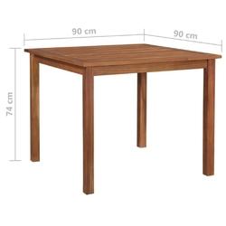 Komplet ogrodowy stół + 4 krzesła vanto polirattan czarny