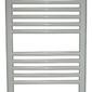 Grzejnik łazienkowy york - wykończenie proste, 500x1200, białyral - paleta ral