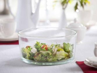 Salaterka szklana edwanex 24 cm