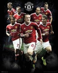 Manchester United Zawodnicy 1516 - plakat