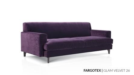 Nobonobo :: sofa tapicerowana rio fioletowa 201x79 cm