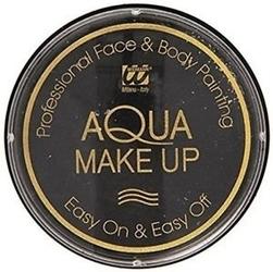Farba do twarzy czarna 30g aqua makeup 20ml