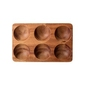 Stojak drewniany na jajka bloomingville