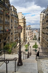 Paris montmartre - fototapeta