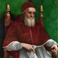 papież juliusz ii - rafael santi ; obraz - reprodukcja