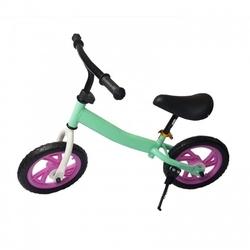 Rowerek biegowy dzieci rower 12 eva ultralekki miętowy
