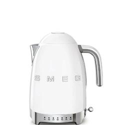 Smeg - czajnik z regulacją temperatury - biały - biały