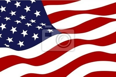 Fototapeta flaga ameryki