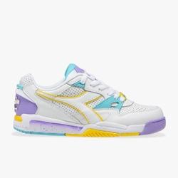 Sneakersy damskie diadora rebound ace wn - fioletowy