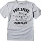 Fox t-shirt junior bomber light heather grey