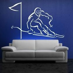 narciarz 1160 szablon malarski