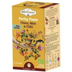 Herbata element ognia: słodka czekolada i chili purity flame - 16 torebek, shoti maa,
