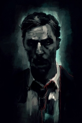 Detektyw - plakat premium wymiar do wyboru: 40x60 cm
