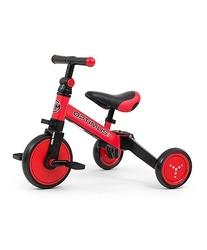 Milly mally optimus red rowerek trzykołowy 3w1 + prezent 3d