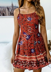 Kwiatowa sukienka letnia łączka