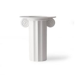 Hkliving  :: ceramiczny wazon grecki biały