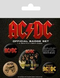 ACDC Logo - przypinki