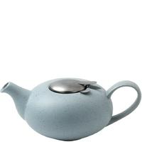 Błękitny dzbanek do herbaty z filtrem 1,1 litra pebble london pottery lp-17284103