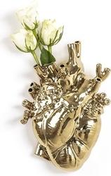 Wazon love in bloom złoty