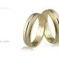 Obrączki ślubne - wzór au-340