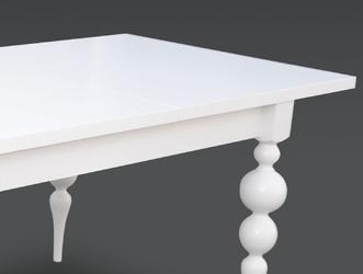 Rozkładany stół bulle  160-215 x 90 cm