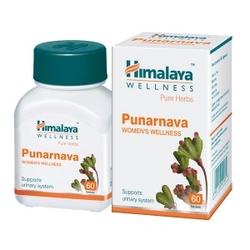Boerhaavia punarnava  60 tabletek układ moczowy - suplement diety himalaya herbals