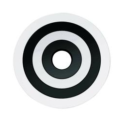 Zestaw 4 podkładek czarny-biały zak designs