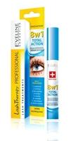 Eveline lash therapy, skoncentrowane serum do rzęs 8w1, 10ml