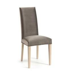 Tapicerowane krzesło freia szare