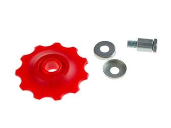Kółko przerzutki 11 zębów czerwone